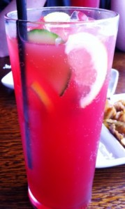 Pink Drink With Fruit